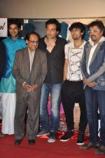 Mukul Dev, Purab Kohli, Bobby Deol, Ghulam Ali, Sonu Nigam, Bikram Ghosh at the First look & theatrical trailer launch of Jal in Cinemax on 25th Feb 2014 (50)_530ddc885ad0e.JPG