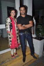 Rohit Roy, Manasi Joshi Roy at Priyanka Sinha_s book launch in Olive, Mumbai on 25th Feb 2014 (36)_530dda6671456.JPG