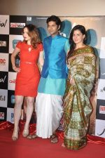 Saidah Jules, Purab Kohli, Kirti Kulhari at the First look & theatrical trailer launch of Jal in Cinemax on 25th Feb 2014 (85)_530ddf794e6a1.JPG