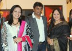 Chitra Mete,  Sanjay Doshi, with Rati Agnihotri at an art event on 26th Feb 2014_530f14525b397.JPG