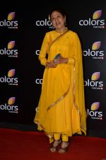 Aruna Irani at Colors red carpet in Grand Hyatt, Mumbai on 1st March 2014 (399)_5312fddb5dc72.JPG