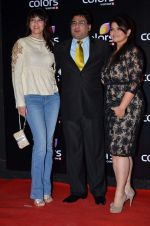 Ayub Khan, Pragati mehra at Colors red carpet in Grand Hyatt, Mumbai on 1st March 2014 (351)_5312fe93a3e37.JPG