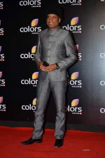 Raju Shrivastav at Colors red carpet in Grand Hyatt, Mumbai on 1st March 2014 (158)_5313022f3dd67.JPG