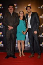 Raza Murad at Colors red carpet in Grand Hyatt, Mumbai on 1st March 2014 (149)_5313032762282.JPG