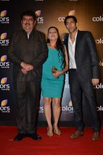 Raza Murad at Colors red carpet in Grand Hyatt, Mumbai on 1st March 2014 (148)_53130326b00c3.JPG