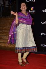 Usha Nadkarni at Colors red carpet in Grand Hyatt, Mumbai on 1st March 2014 (156)_531305f4b2b9c.JPG