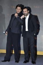Shahrukh Khan, Tarun Mansukhani unveils Tag Heuer_s Golden Carrera watch collection in Taj Land_s End, Mumbai on 3rd March 2014 (38)_5315a50f67ee9.JPG
