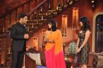 Sunny Leone, Ekta Kapoor on the sets of Comedy Nights with Kapil in Filmcity, Mumbai on 4th March 2014 (29)_5316c721361c8.JPG