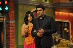 Sunny Leone, Ekta Kapoor on the sets of Comedy Nights with Kapil in Filmcity, Mumbai on 4th March 2014 (62)_5316c74fcb3ce.JPG