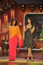 Sunny Leone, Ekta Kapoor on the sets of Comedy Nights with Kapil in Filmcity, Mumbai on 4th March 2014 (81)_5316c725dc5b6.JPG