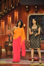 Sunny Leone, Ekta Kapoor on the sets of Comedy Nights with Kapil in Filmcity, Mumbai on 4th March 2014 (83)_5316c72640462.JPG