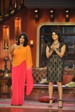 Sunny Leone, Ekta Kapoor on the sets of Comedy Nights with Kapil in Filmcity, Mumbai on 4th March 2014 (85)_5316c72696030.JPG