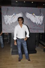 Kishan Kumar at the Viewing of In an Artists Mind - IV presented by Reshma Jani and Shwetambari Soni of Gallerie Angel Art along with Sanjay Gupta on 6th March 2014 (61)_5319aacd066c9.JPG