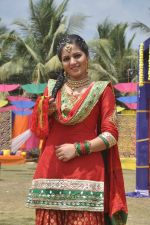 Neha Bagga at Colors Holi bash in Malad, Mumbai on 9th March 2014 (35)_531da2e548c9d.JPG