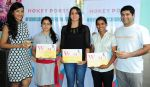 Seeta Patel, Aditi Dhumatkar and Mugdha Joshi receive Hokey Pokey_s Woman Icon of Sport Award from W star Leeza Mangaldas and Rohan Mirchandani_531dcddc0ea4b.JPG