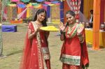 Shefali Sharma, Neha Bagga at Colors Holi bash in Malad, Mumbai on 9th March 2014 (52)_531da2d010e42.JPG