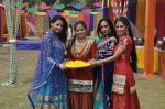 Shefali Sharma, Neha Bagga, Suchitra Pillai at Colors Holi bash in Malad, Mumbai on 9th March 2014 (33)_531da2d4746a8.JPG