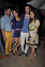 Indraneil Sengupta, barkha Bisht at Box Cricket League launch in Sun N Sans, Mumbai on 11th March 2014 (5)_532001525ed41.JPG