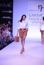 Model walk for Nikhil Thampi Show at LFW 2014 Day 1 in Grand Hyatt, Mumbai on 12th March 2014 (46)_53204f011dec6.JPG
