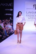 Model walk for Nikhil Thampi Show at LFW 2014 Day 1 in Grand Hyatt, Mumbai on 12th March 2014 (47)_53204f018c817.JPG