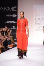 Model walk for SOUP BY SOUGAT PAUL Show at LFW 2014 Day 1 in Grand Hyatt, Mumbai on 12th March 2014 (171)_53204d523ef35.JPG