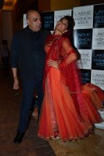 Jacqueline Fernandez on Day 1 at LFW 2014 in Grand Hyatt, Mumbai on 12th March 2014 (49)_532182a97ccf3.JPG
