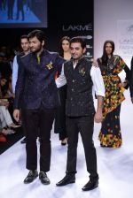 Ali Fazal walk for Digvijay Singh Show at LFW 2014 Day 1 in Grand Hyatt, Mumbai on 12th March 2014 (37)_53217d796bc9e.JPG