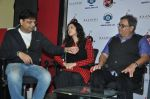 Irshad Kamil, Mishti, Subhash Ghai at the release of Kaanchi..._s anthem in Andheri, Mumbai on 12th March 2014 (12)_53218978e4d43.JPG