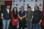 Irshad Kamil, Mishti, Subhash Ghai, Ismail Darbar at the release of Kaanchi..._s anthem in Andheri, Mumbai on 12th March 2014 (26)_532189798db95.JPG