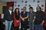 Irshad Kamil, Mishti, Subhash Ghai, Ismail Darbar at the release of Kaanchi..._s anthem in Andheri, Mumbai on 12th March 2014 (27)_532189c107495.JPG