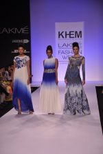Model walk for KHEM Show at LFW 2014 Day 2 in Grand Hyatt, Mumbai on 13th March 2014 (112)_53219f48aeabe.JPG