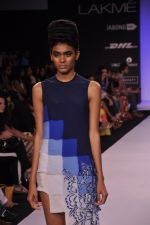 Model walk for KHEM Show at LFW 2014 Day 2 in Grand Hyatt, Mumbai on 13th March 2014 (19)_53219f254e1aa.JPG