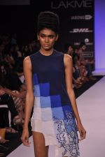 Model walk for KHEM Show at LFW 2014 Day 2 in Grand Hyatt, Mumbai on 13th March 2014 (22)_53219f2669069.JPG