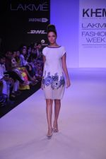 Model walk for KHEM Show at LFW 2014 Day 2 in Grand Hyatt, Mumbai on 13th March 2014 (5)_53219f1f853e1.JPG