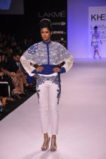 Model walk for KHEM Show at LFW 2014 Day 2 in Grand Hyatt, Mumbai on 13th March 2014 (51)_53219f3148001.JPG