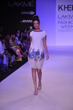 Model walk for KHEM Show at LFW 2014 Day 2 in Grand Hyatt, Mumbai on 13th March 2014 (6)_53219f1fdc354.JPG