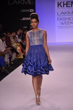 Model walk for KHEM Show at LFW 2014 Day 2 in Grand Hyatt, Mumbai on 13th March 2014 (61)_53219f354de6d.JPG