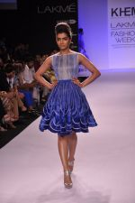 Model walk for KHEM Show at LFW 2014 Day 2 in Grand Hyatt, Mumbai on 13th March 2014 (64)_53219f36627d9.JPG