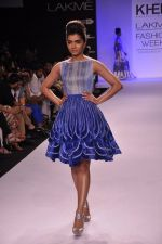 Model walk for KHEM Show at LFW 2014 Day 2 in Grand Hyatt, Mumbai on 13th March 2014 (65)_53219f36bb98a.JPG