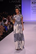 Model walk for KHEM Show at LFW 2014 Day 2 in Grand Hyatt, Mumbai on 13th March 2014 (74)_53219f3a33a57.JPG