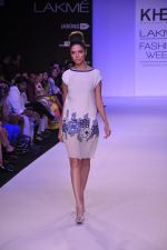 Model walk for KHEM Show at LFW 2014 Day 2 in Grand Hyatt, Mumbai on 13th March 2014 (8)_53219f2098e75.JPG