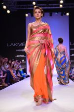 Model walk for Mandira Bedi Show at LFW 2014 Day 2 in Grand Hyatt, Mumbai on 13th March 2014 (91)_53219fa4b1e79.JPG
