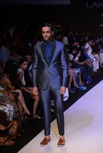 Model walk for Narendra Kumar Ahmed Show at LFW 2014 Day 1 in Grand Hyatt, Mumbai on 12th March 2014 (61)_532180ad8bc96.JPG
