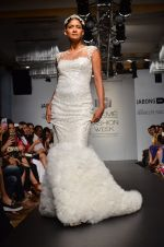 Carol Gracias walk for Carleo Show at LFW 2014 Day 2 in Grand Hyatt, Mumbai on 13th March 2014 (8)_53229baa5a83d.JPG