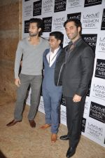 Hanif Hilal on Day 2 at LFW 2014 in Grand Hyatt, Mumbai on 13th March 2014(163)_5322a076f3a88.JPG
