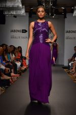 Model walk for Veda Raheja Show at LFW 2014 Day 2 in Grand Hyatt, Mumbai on 13th March 2014 (16)_532268109e1cd.JPG