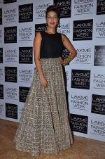 Neha Dhupia on Day 2 at LFW 2014 in Grand Hyatt, Mumbai on 13th March 2014 (105)_5322a18b06983.JPG