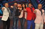 Shilpa Shetty, Harman Baweja, Javed Jaffrey, Ravi behl, Naved Jaffrey at Dishkiyaaon promotions on Boogie Woogie in Mumbai on 13th March 2014 (19)_53226a09e4d3b.JPG