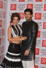 Mohit Marwah, Kiara Advani on Day 5 at LFW 2014 in Grand Hyatt, Mumbai on 16th March 2014 (274)_5326eba0c97c0.JPG