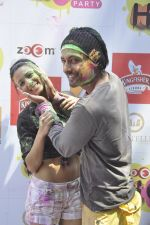 Barkha Bisht, Indraneil Sengupta at Zoom Holi celebration in Mumbai on 17th March 2014 (34)_5327e71cd2fbd.JPG